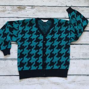 Vintage 90s Cardigan Sweater Partners Petites